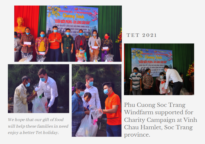 TET 2021-Mainstream Phu Cuong support for Charity Campaign at Vinh Chau