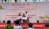 Tài trợ xây nhà mới cho người dân Đồng Bằng Sông Cửu Long
